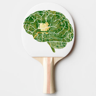 brain ping pong paddle