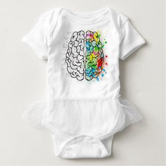 brain series baby bodysuit