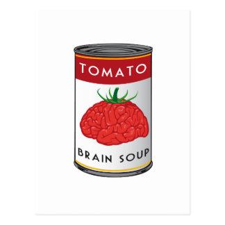 brain soup postcard