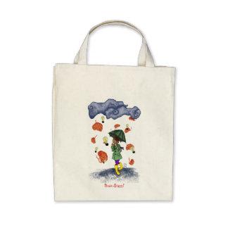 Brain Storm! Organic Grocery Tote Bags