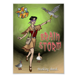Brain Storm Posters