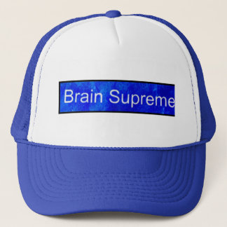 BRAIN SUPREME TRUCKER HAT