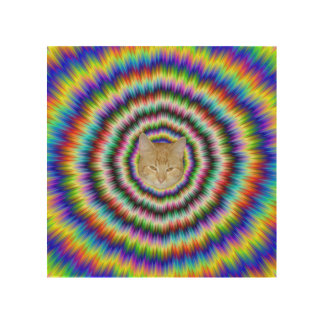 Brain Teaser Wood Canvases