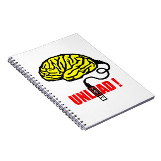 Brain to unload notebook