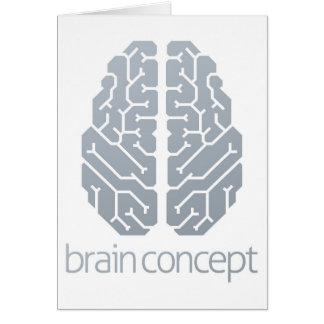 Brain Top Concept Card
