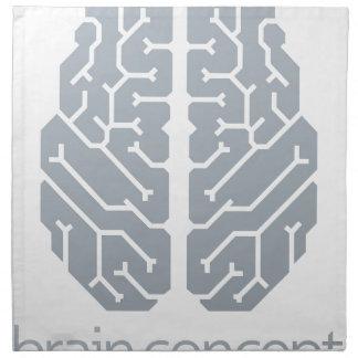 Brain Top Concept Napkin