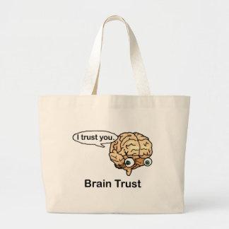 Brain Trust Jumbo Tote Bag