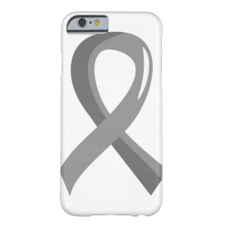 Brain Tumor Grey Ribbon 3 Barely There iPhone 6 Case