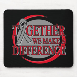Brain Tumor Together We Make A Difference Mousepad