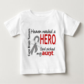 Brain Tumors Heaven Needed a Hero Aunt Shirt