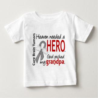 Brain Tumors Heaven Needed a Hero Grandpa Baby T-Shirt