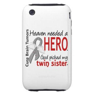Brain Tumors Heaven Needed a Hero Twin Sister Tough iPhone 3 Covers