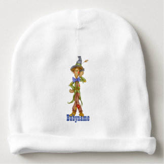 Brainless Scarecrow Personalized Baby Beanie