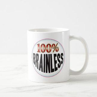 Brainless Tag Basic White Mug