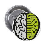 BrainPain 6 Cm Round Badge