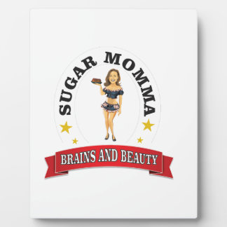 Brains and Beauty sm Display Plaque