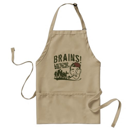 Brains! Apron