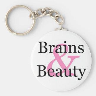 Brains & Beauty Keychain