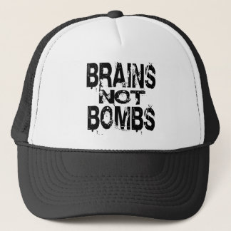 Brains Not Bombs Hat
