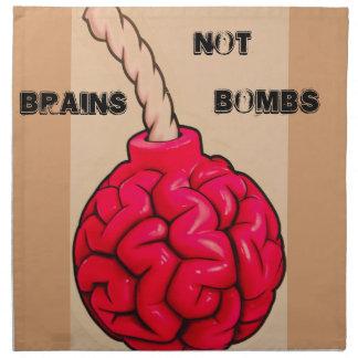 Brains Not Bombs Napkin