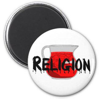 Brainwashing Drink 6 Cm Round Magnet