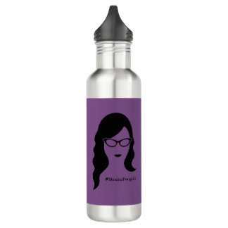 Brainy Fangirls Water Bottle