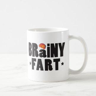 Brainy Fart K Coffee Mugs