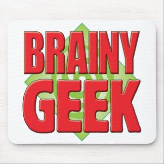 Brainy Geek v2 Mousepad