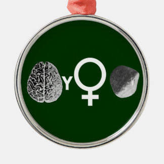Brainy Girls Rock! Christmas Ornaments