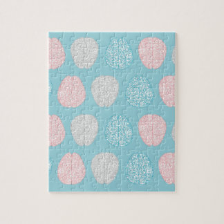 Brainy Pastel Pattern (Awesome Pastel Brains) Jigsaw Puzzle