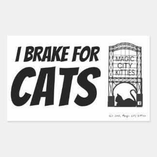 Brake for cats MCK sticker