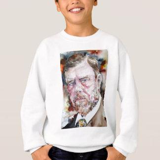 BRAM STOKER - watercolor portrait Sweatshirt