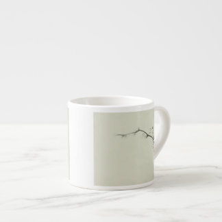 Bramble Tendrils in the Fog - Minimalism Espresso Mug
