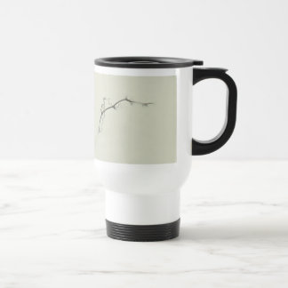 Bramble Tendrils in the Fog - Minimalism Stainless Steel Travel Mug