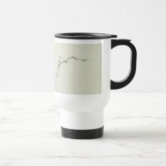 Bramble Tendrils in the Fog - Minimalism Stainless Steel Travel Mug