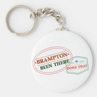 Brampton Been there done that Key Ring