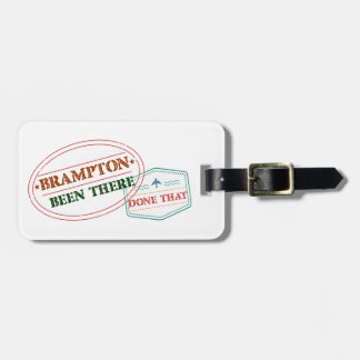 Brampton Been there done that Luggage Tag