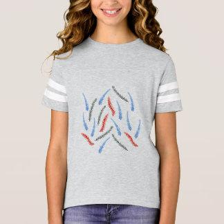 Branch Girls' Football T-Shirt