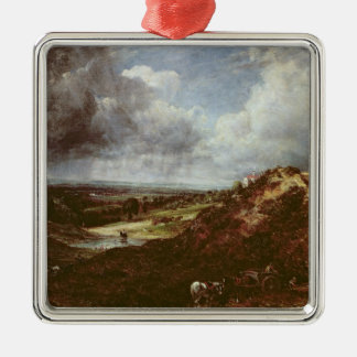 Branch Hill Pond, Hampstead Heath, 1828 Metal Ornament