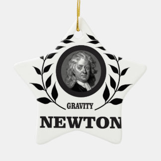 branch newton g ceramic ornament