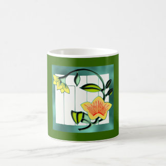 Branch of bloom mugs