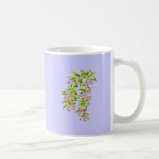 Branch of bloom coffee mugs