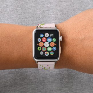 Branch of flowers apple watch band
