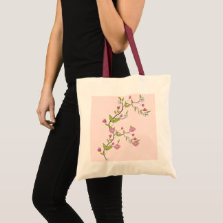 Branch of flowers tote bag