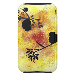 Branch Pattern iPhone 3 Tough Cases