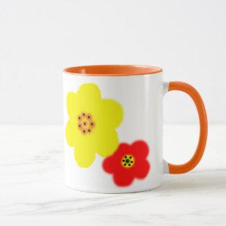 Branch with flowers mug