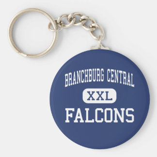Branchburg Central Falcons Middle Somerville Basic Round Button Key Ring