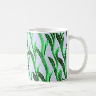 branches green coffee mug