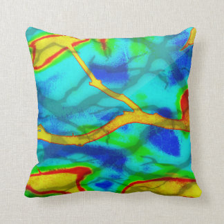 Branches in Bold Colour Cushion