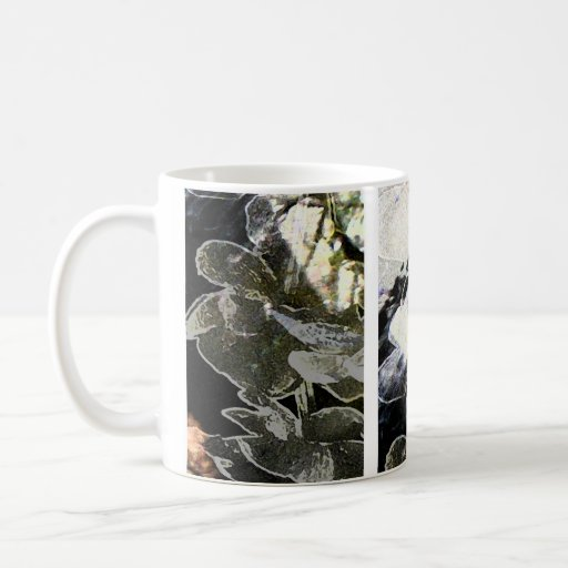 Branches in the light mug